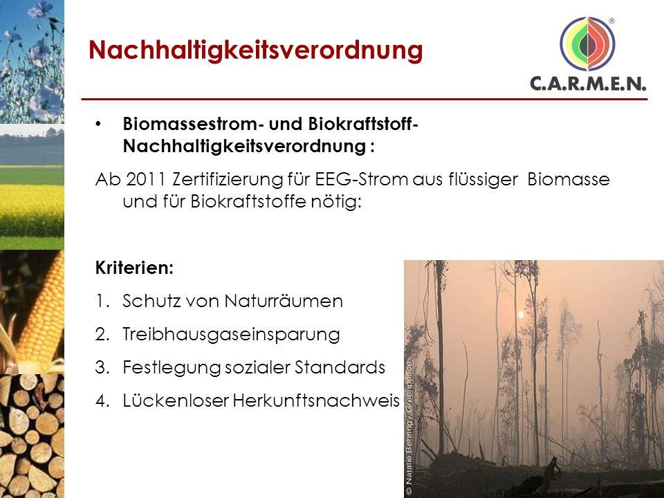 Nachhaltigkeitsverordnung
