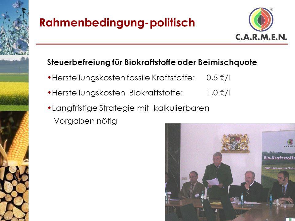 Rahmenbedingung-politisch