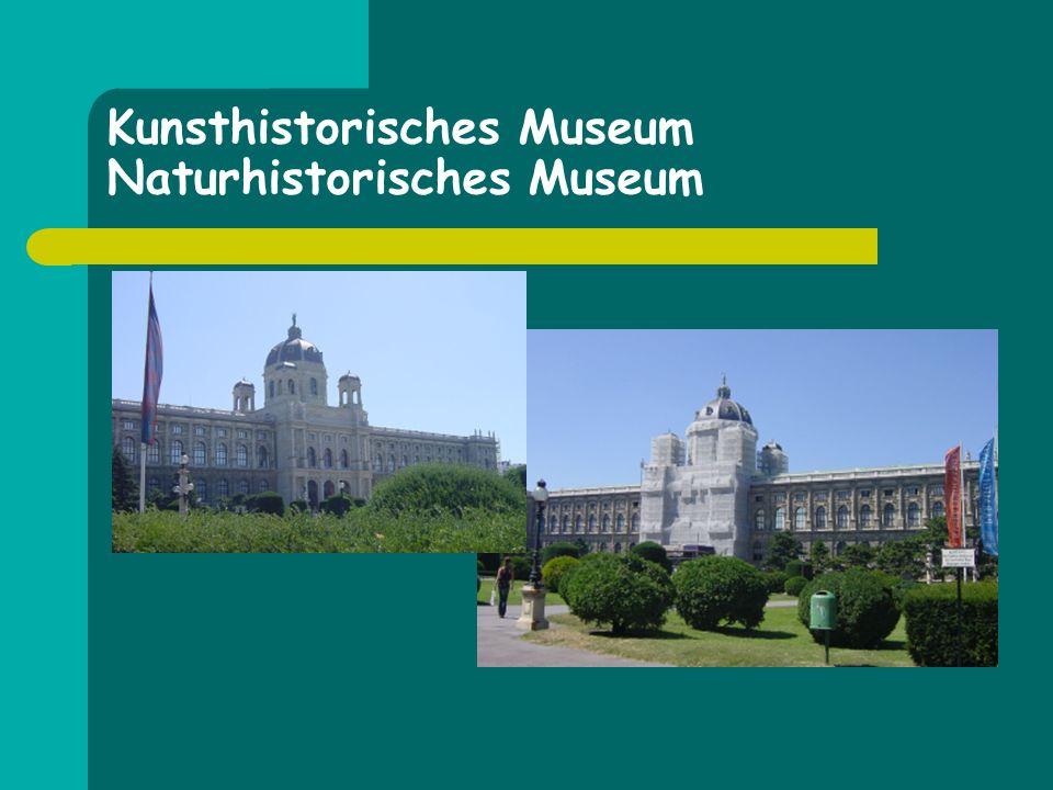 Kunsthistorisches Museum Naturhistorisches Museum