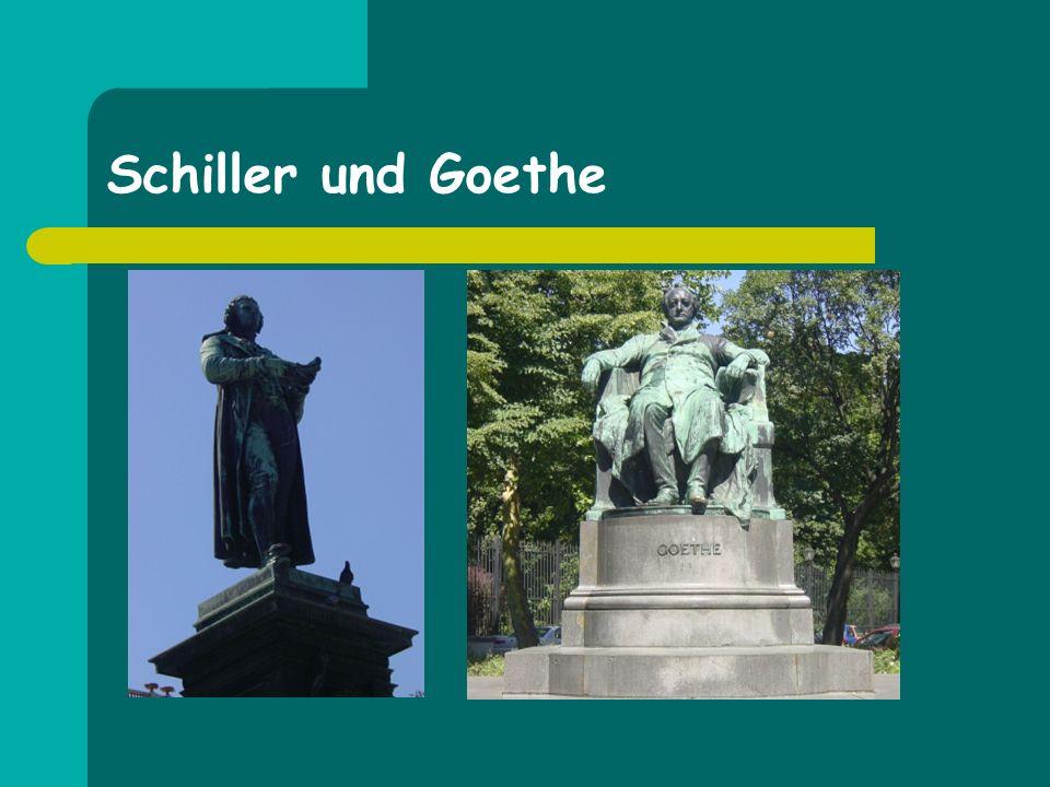 Schiller und Goethe