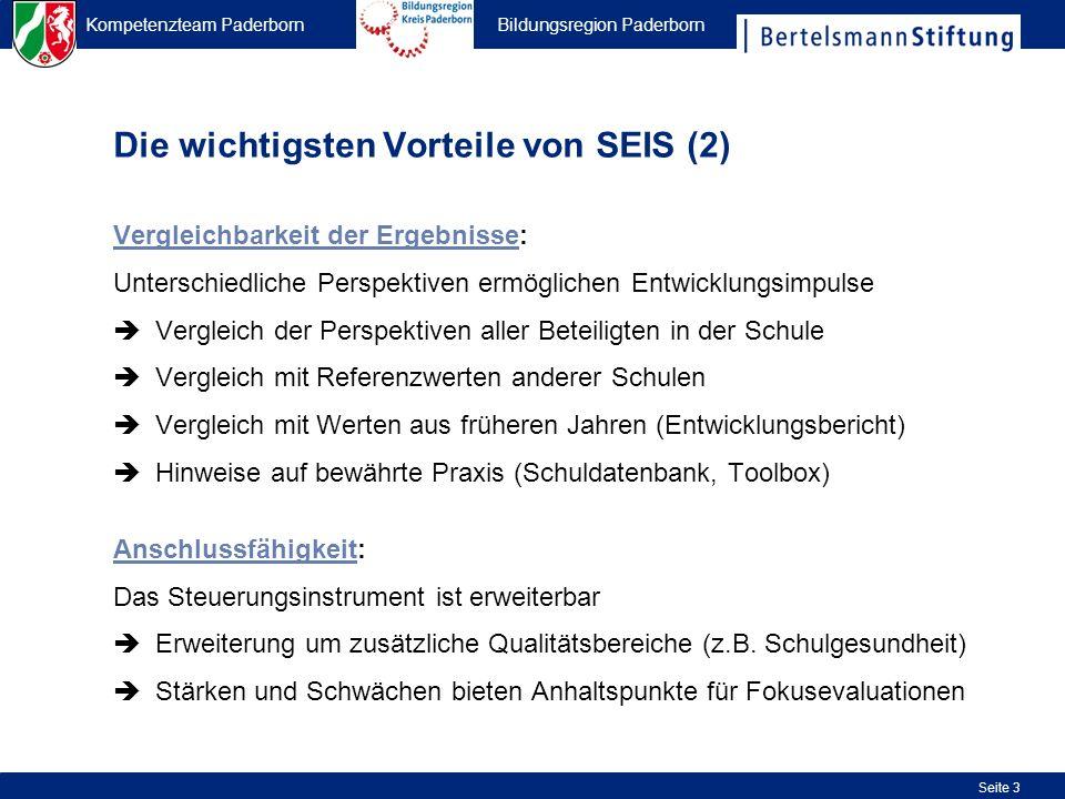 Die wichtigsten Vorteile von SEIS (2)