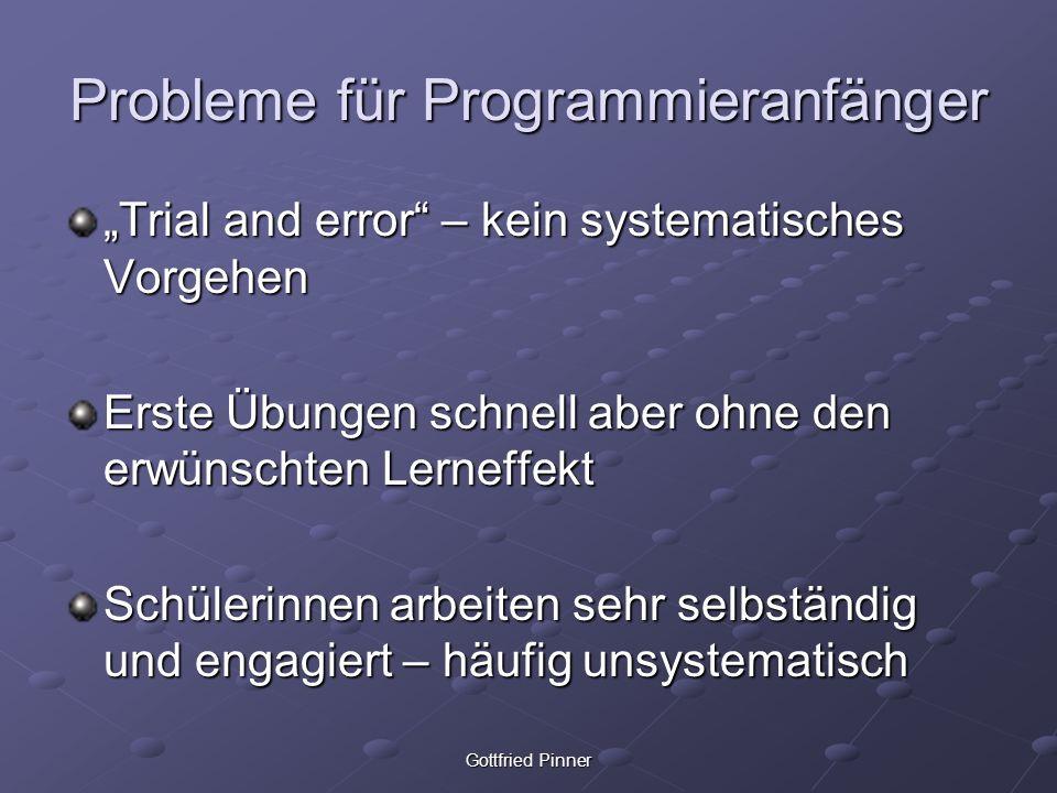 Probleme für Programmieranfänger