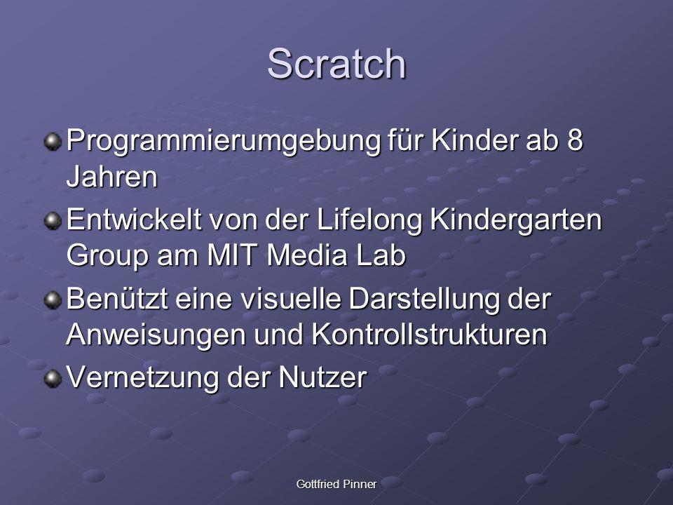 Scratch Programmierumgebung für Kinder ab 8 Jahren