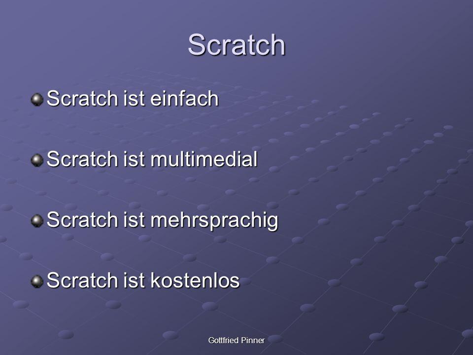 Scratch Scratch ist einfach Scratch ist multimedial