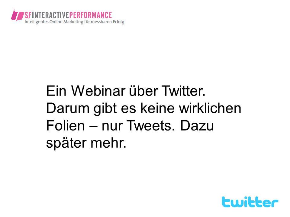 Ein Webinar über Twitter