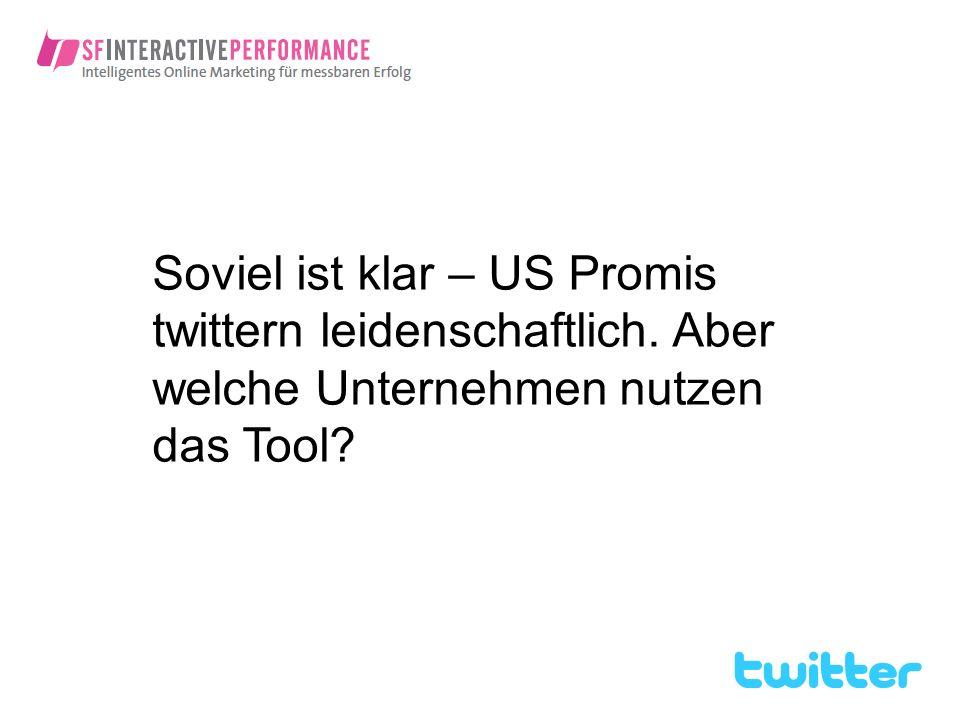 Soviel ist klar – US Promis twittern leidenschaftlich