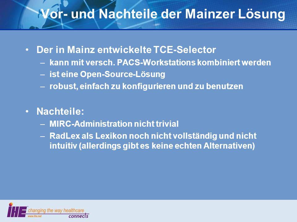Vor- und Nachteile der Mainzer Lösung
