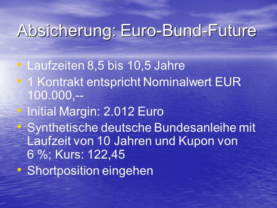 Absicherung: Euro-Bund-Future