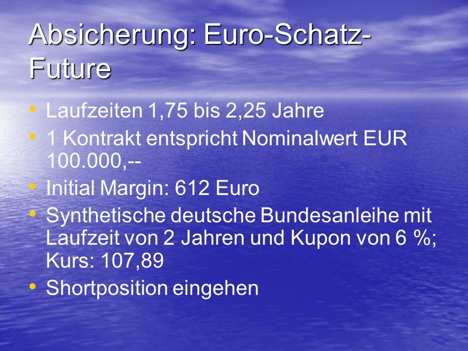 Absicherung: Euro-Schatz-Future