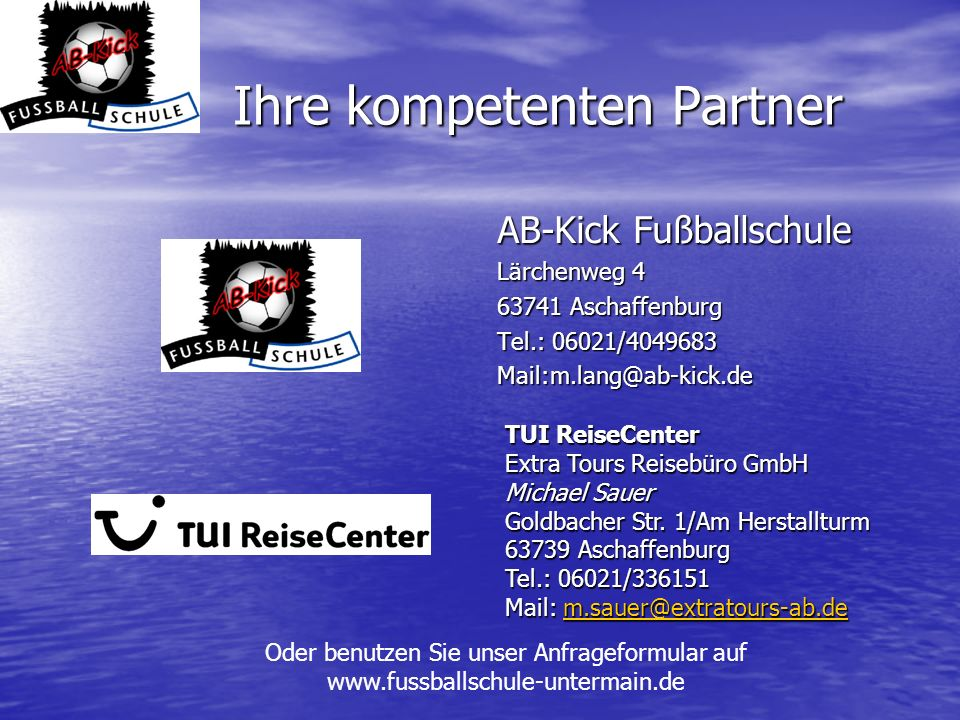 Ihre kompetenten Partner