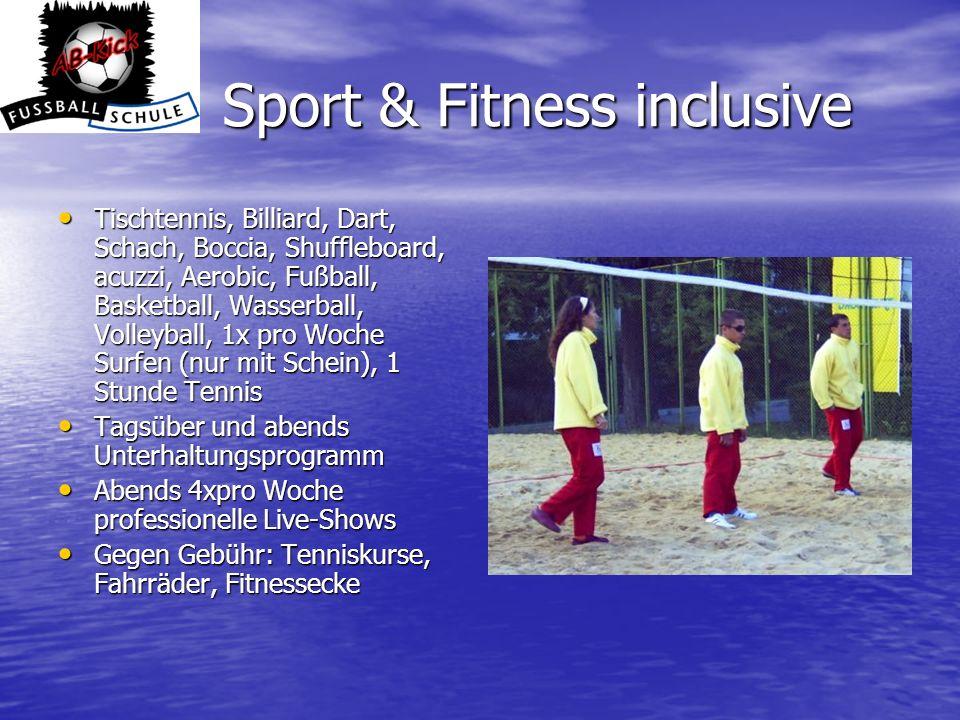 Sport & Fitness inclusive