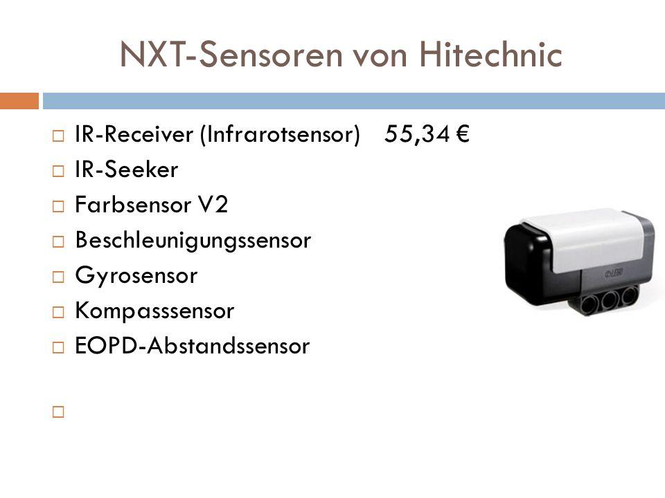NXT-Sensoren von Hitechnic