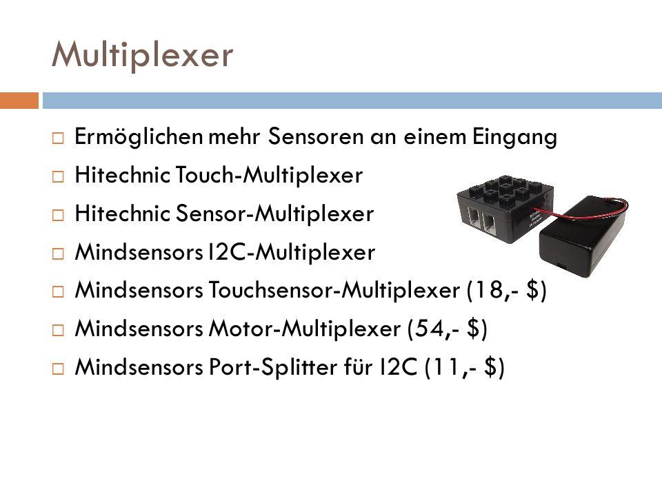 Multiplexer Ermöglichen mehr Sensoren an einem Eingang