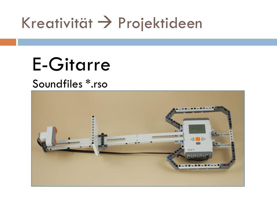 Kreativität  Projektideen