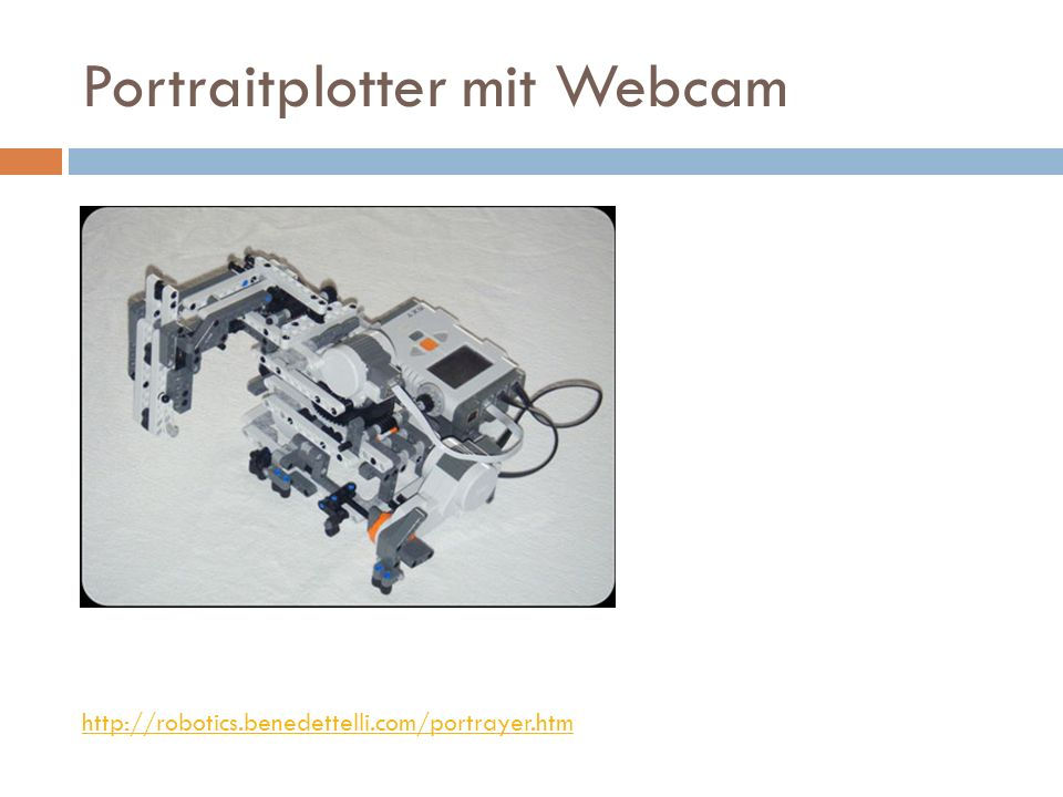 Portraitplotter mit Webcam