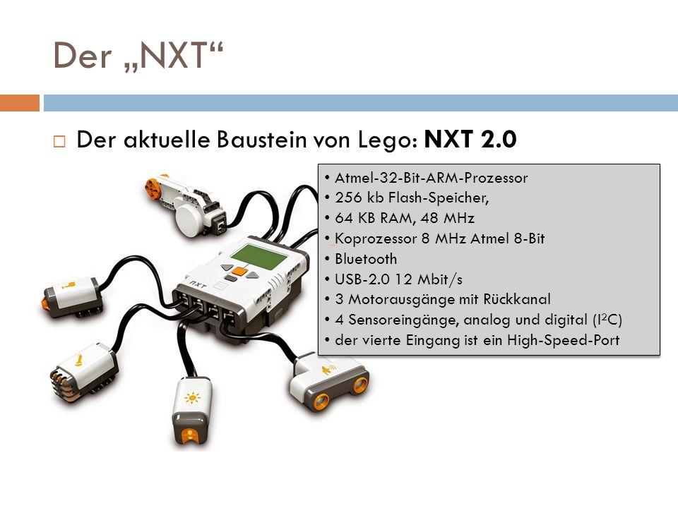 """Der """"NXT Der aktuelle Baustein von Lego: NXT 2.0"""