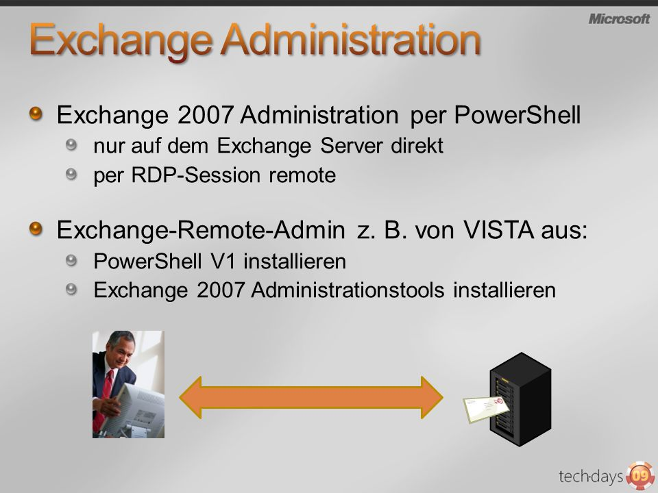 Exchange Administration