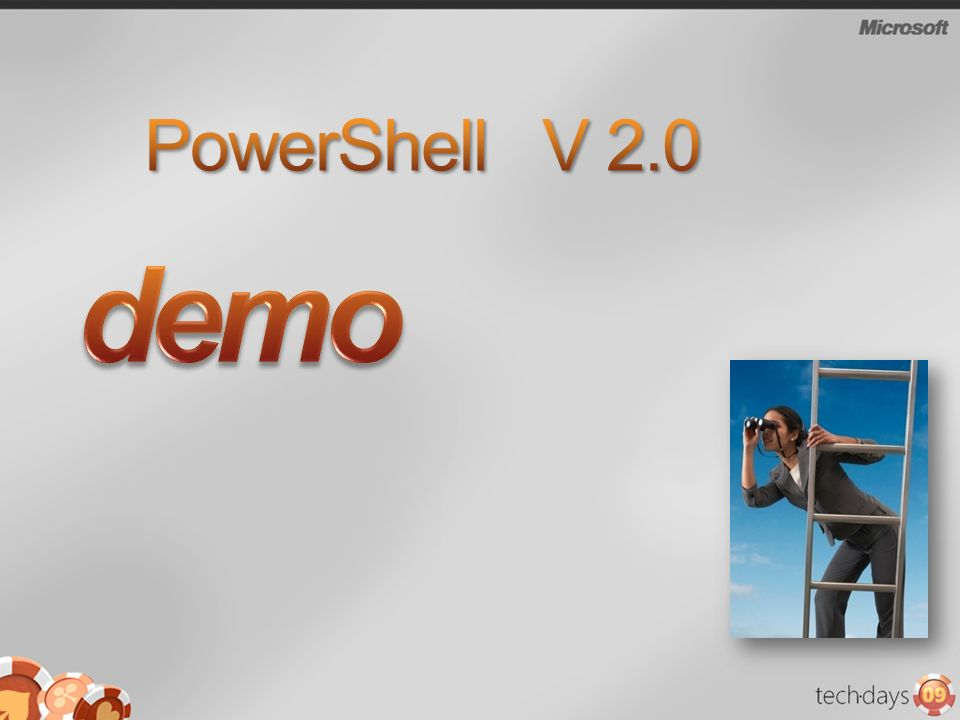 PowerShell V 2.0 demo