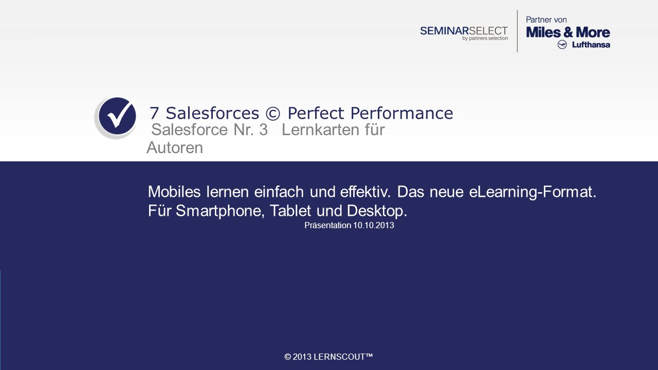 7 Salesforces © Perfect Performance
