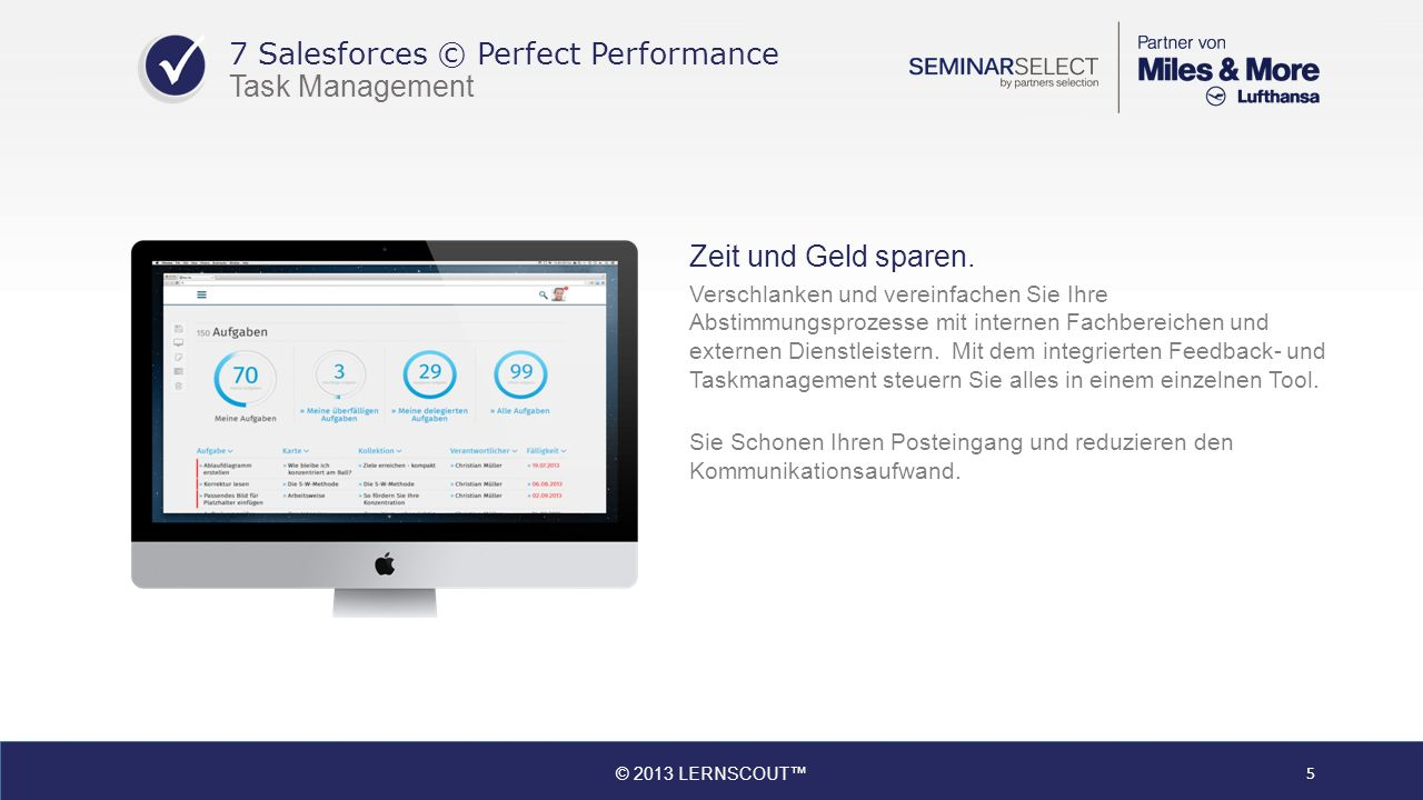 7 Salesforces © Perfect Performance Task Management