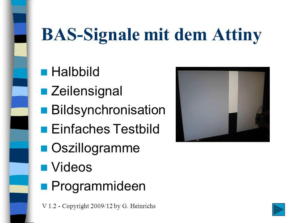 BAS-Signale mit dem Attiny