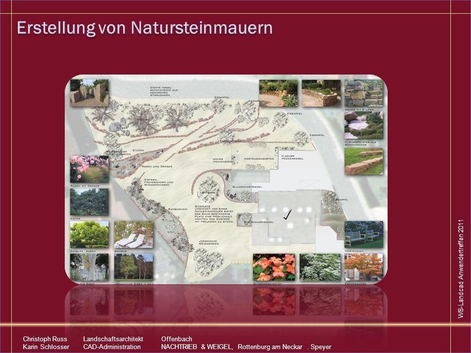 Erstellung von Natursteinmauern