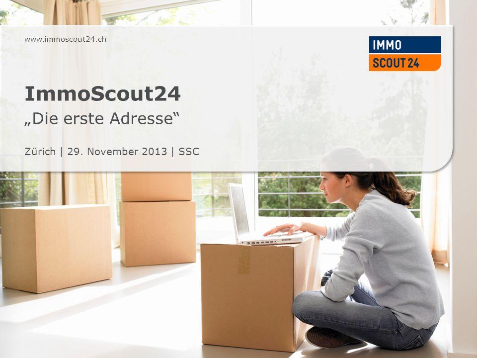 "ImmoScout24 ""Die erste Adresse"