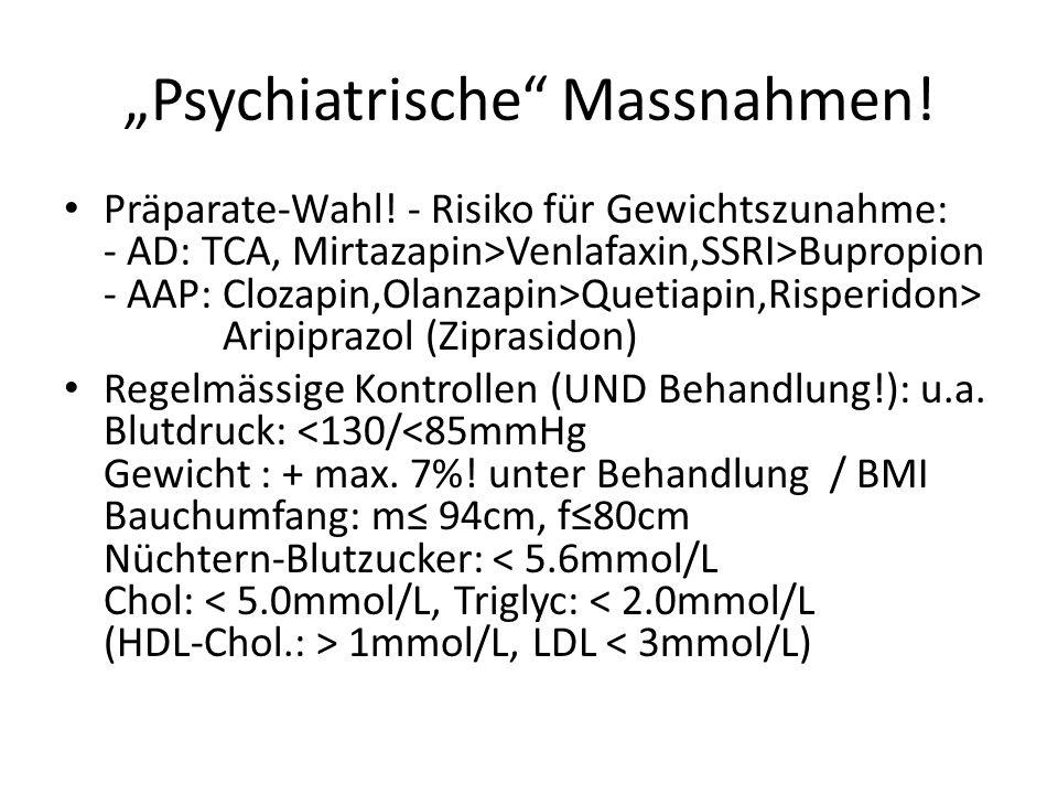 """""""Psychiatrische Massnahmen!"""