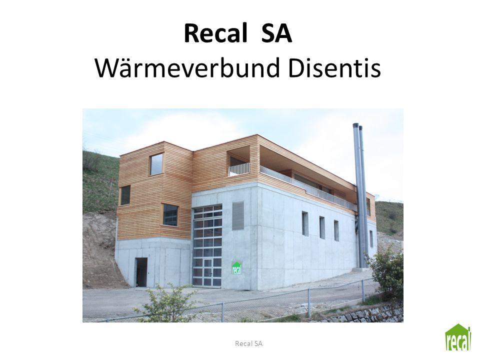 Recal SA Wärmeverbund Disentis