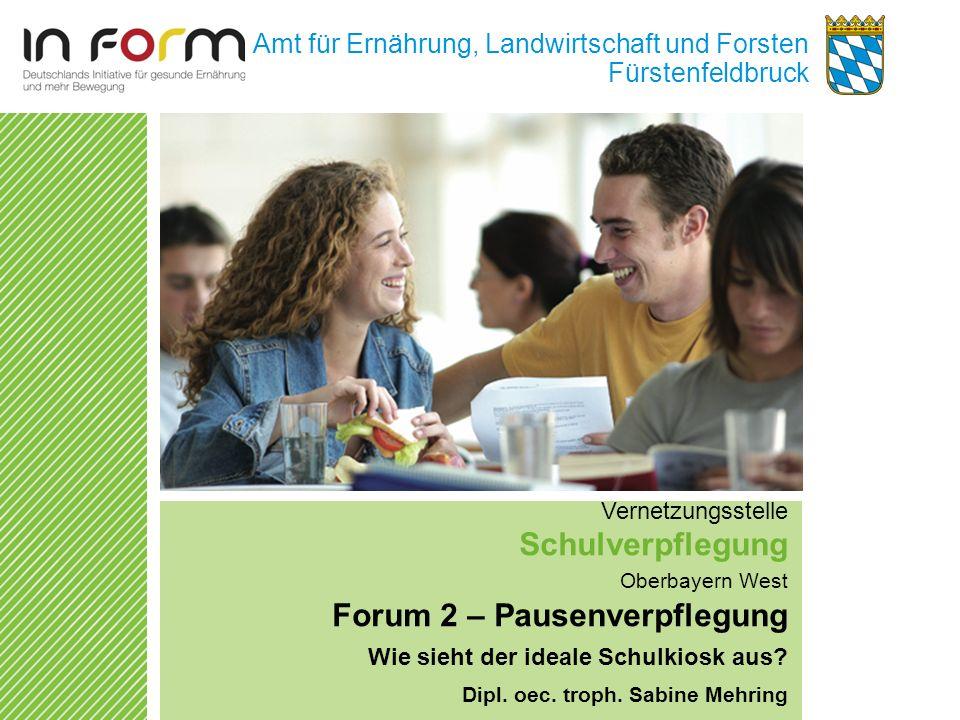 Forum 2 – Pausenverpflegung