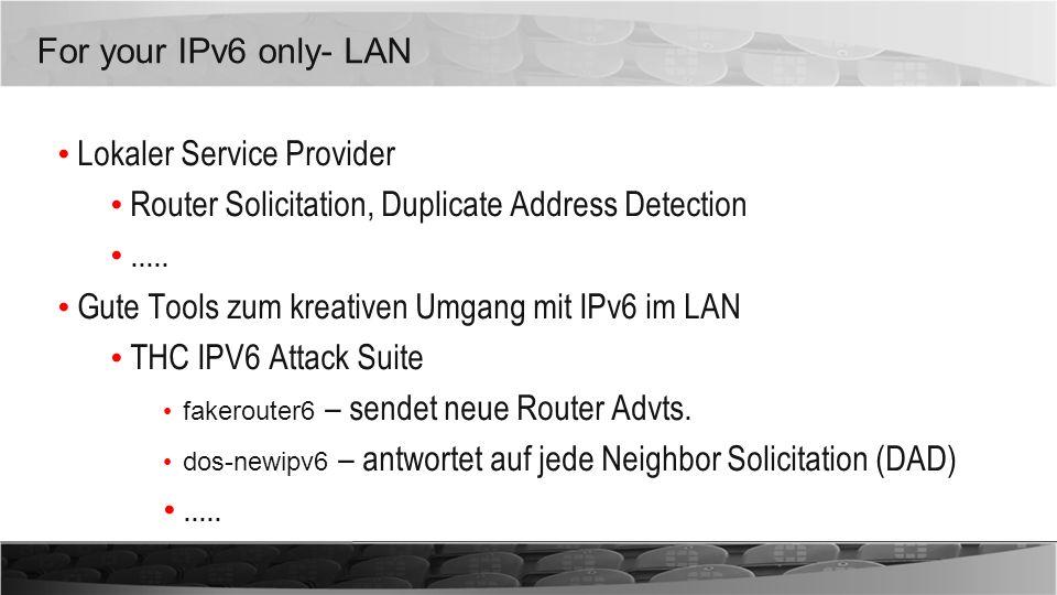 Lokaler Service Provider