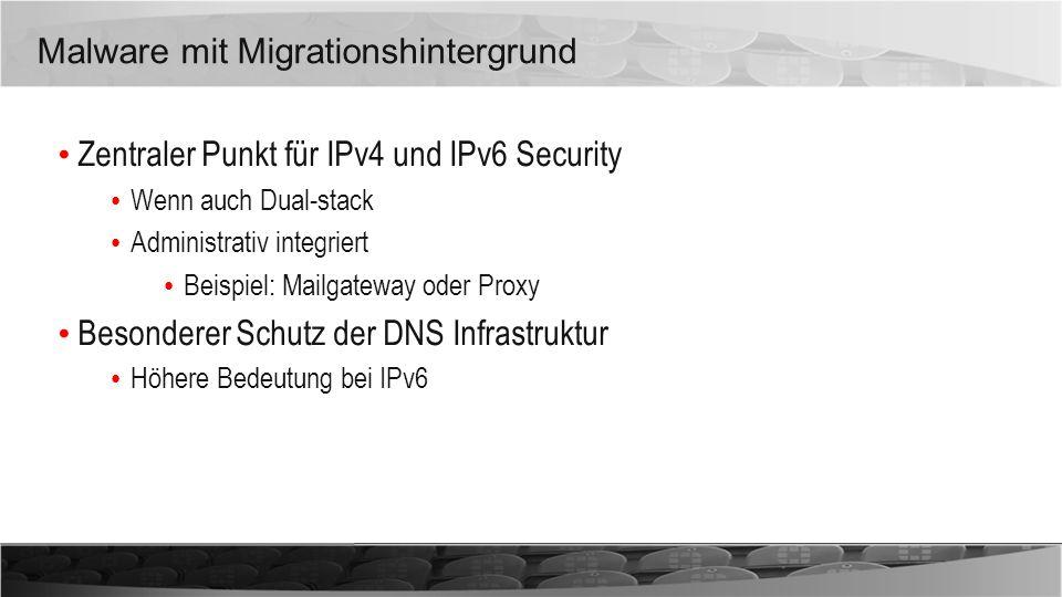 Malware mit Migrationshintergrund