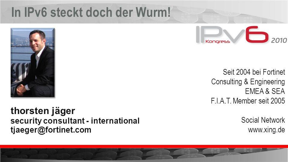 In IPv6 steckt doch der Wurm!