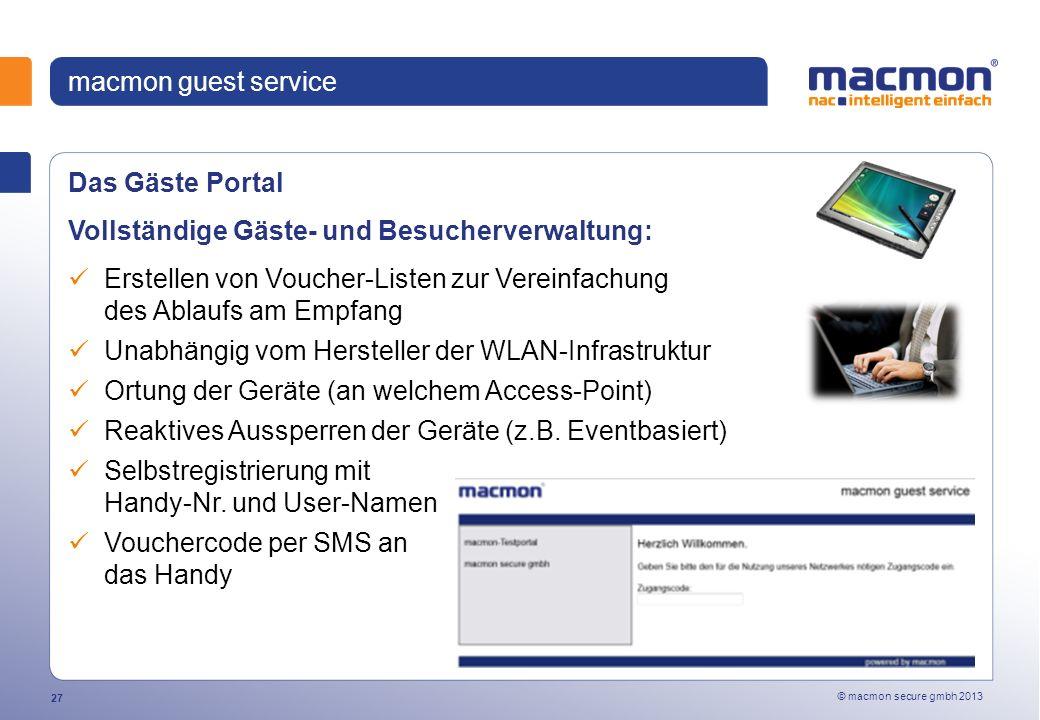 Vollständige Gäste- und Besucherverwaltung: