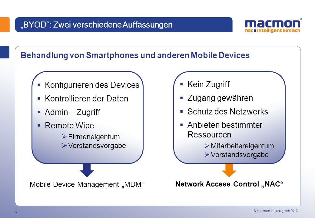 """""""BYOD : Zwei verschiedene Auffassungen"""
