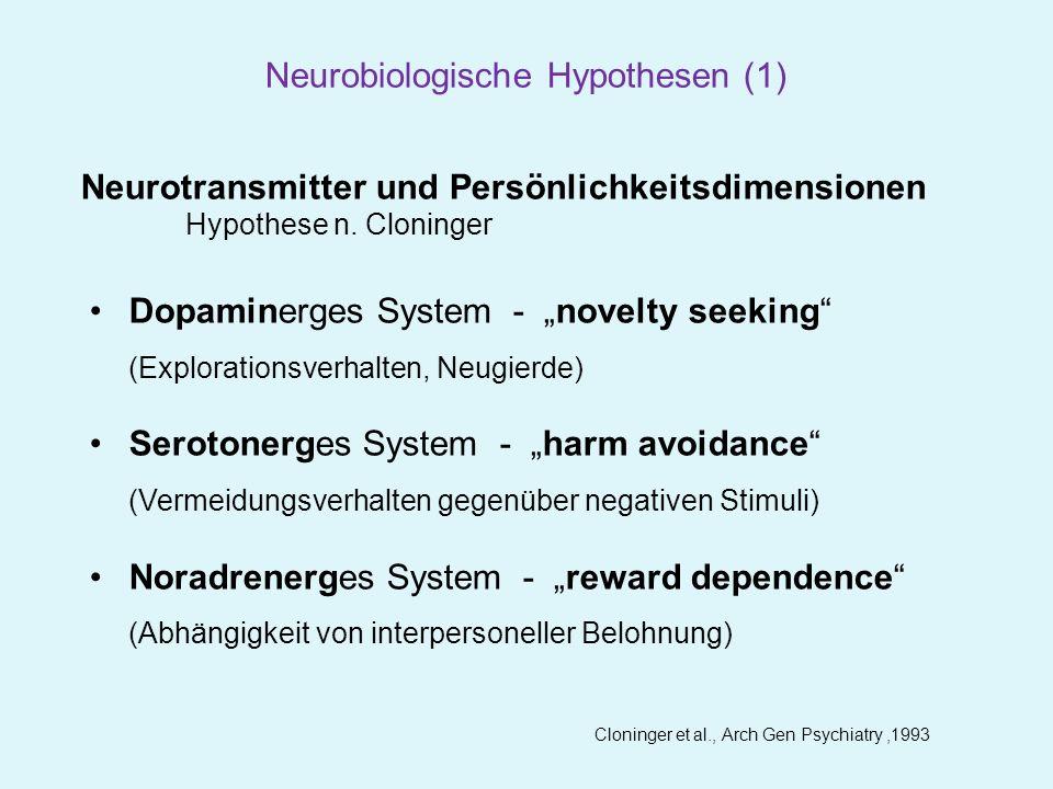 Neurobiologische Hypothesen (1)