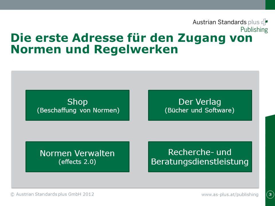 Die erste Adresse für den Zugang von Normen und Regelwerken