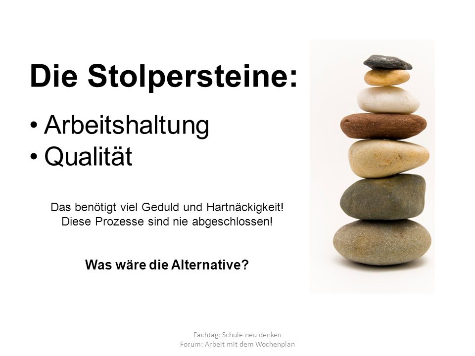 Was wäre die Alternative