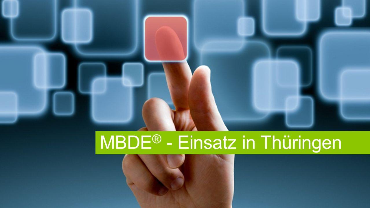 MBDE® - Einsatz in Thüringen
