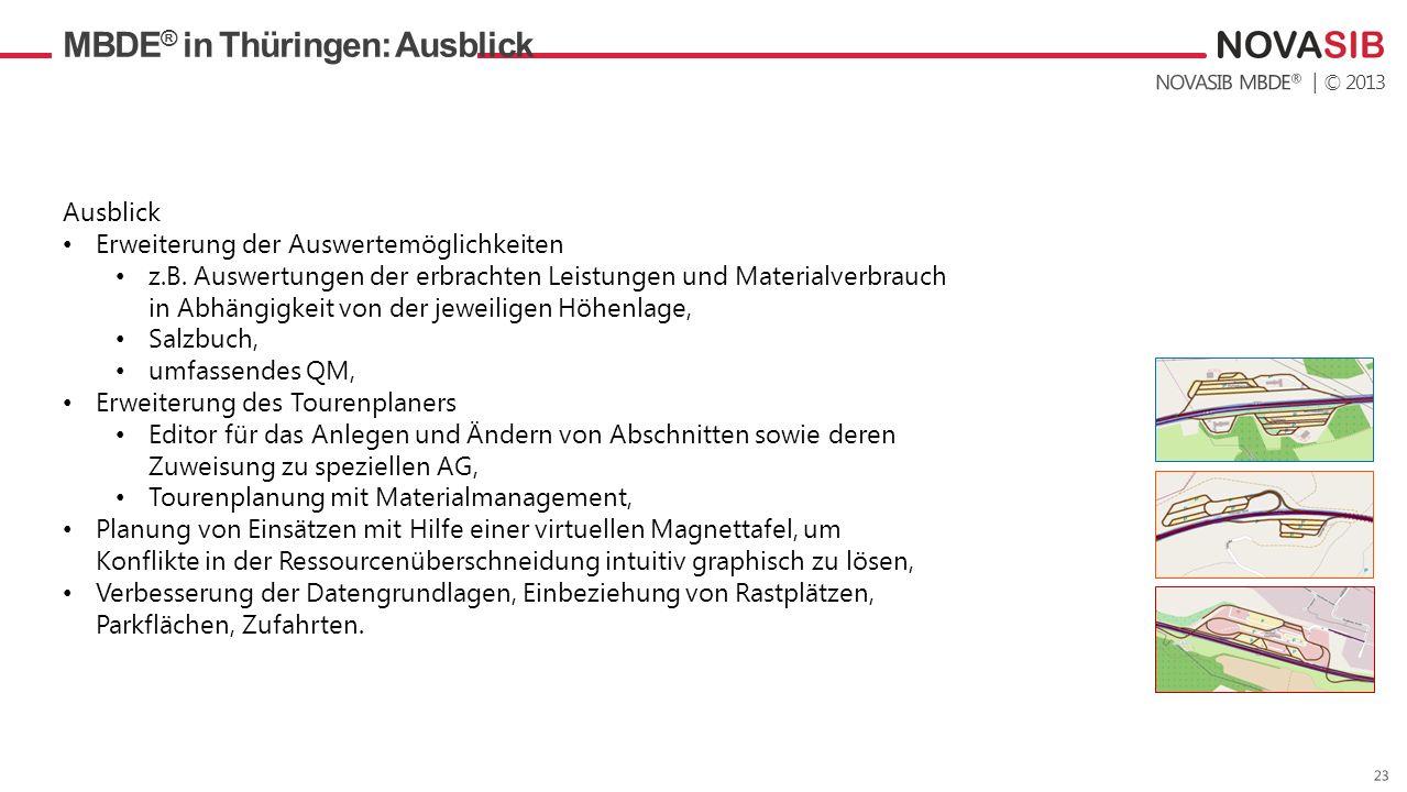MBDE® in Thüringen: Ausblick
