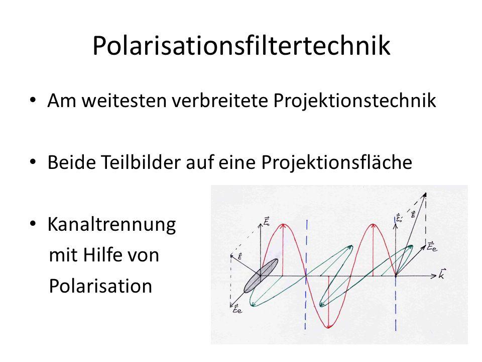 Polarisationsfiltertechnik