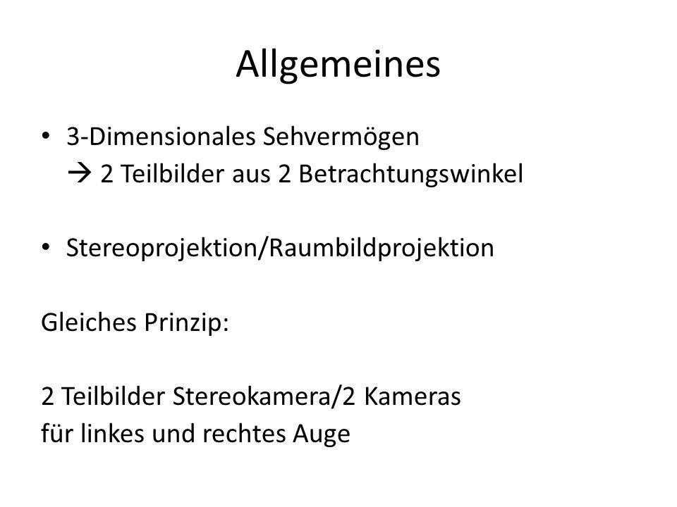 Allgemeines 3-Dimensionales Sehvermögen