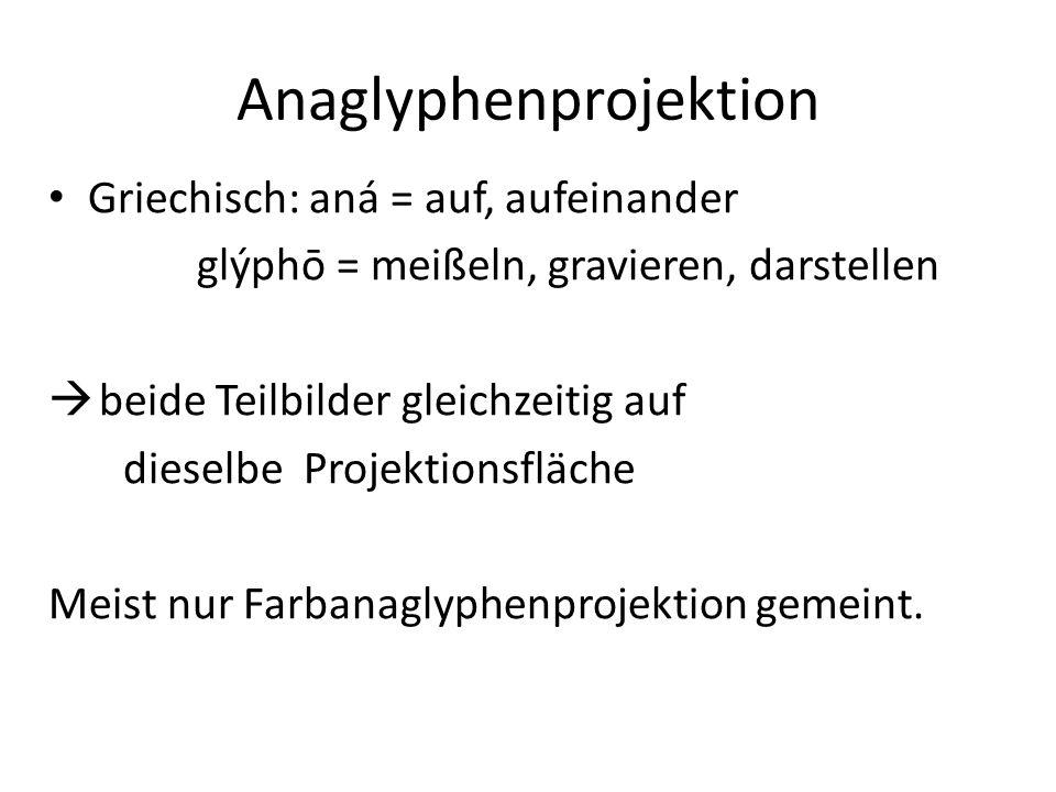 Anaglyphenprojektion