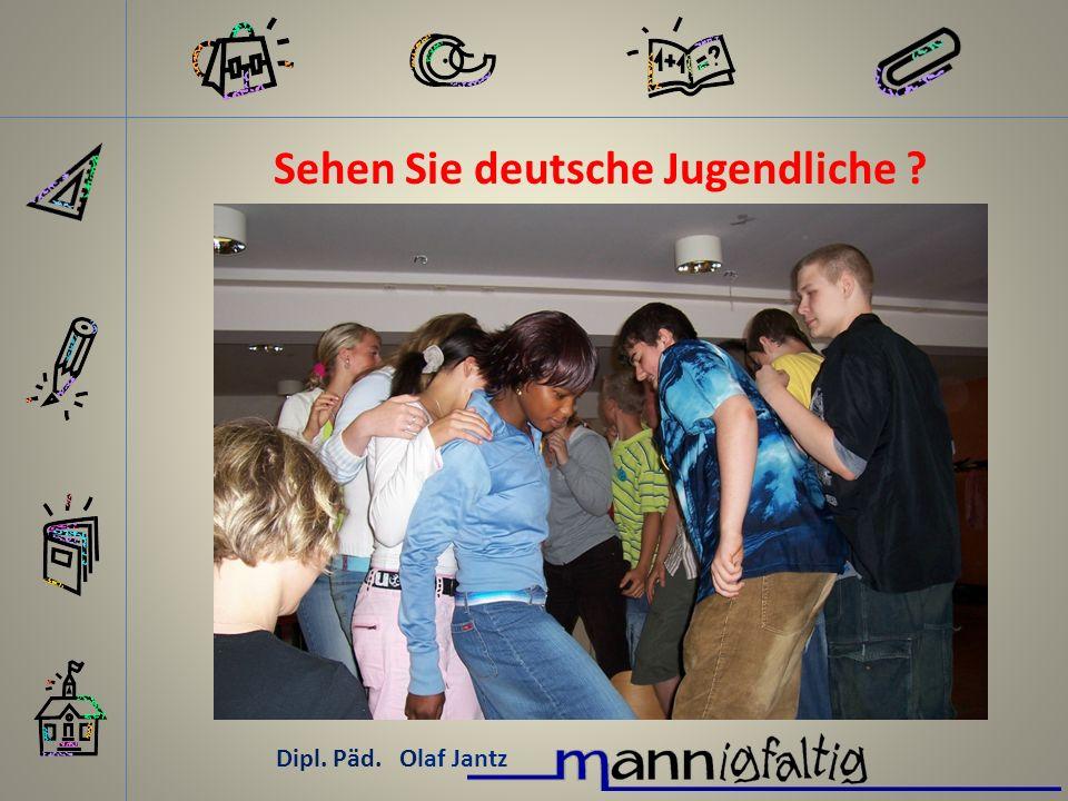 Sehen Sie deutsche Jugendliche