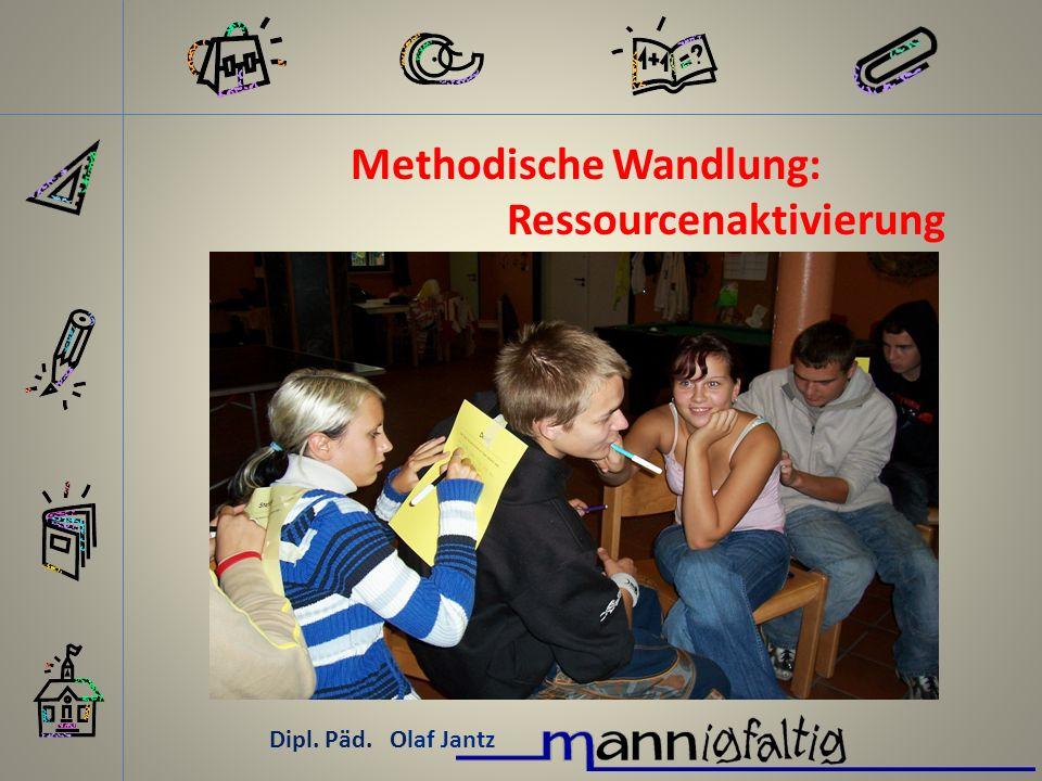 Methodische Wandlung: Ressourcenaktivierung
