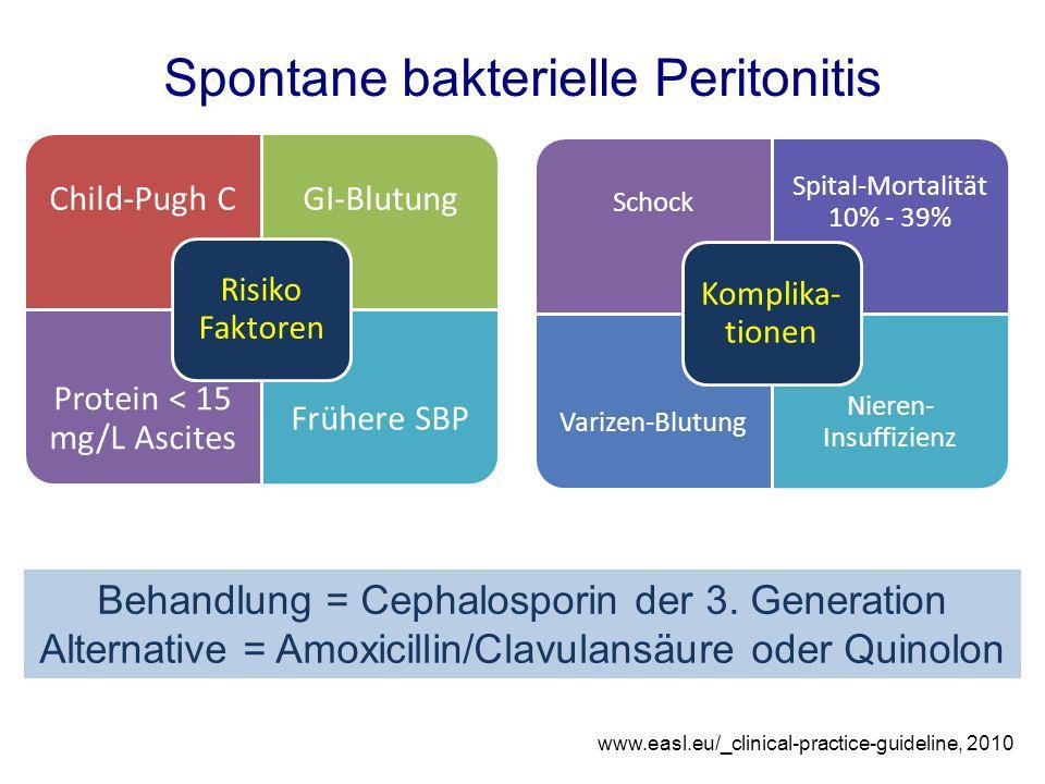 Spontane bakterielle Peritonitis