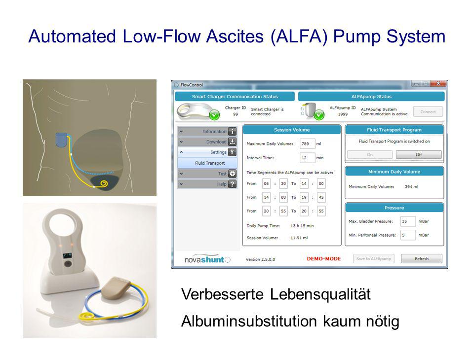 Automated Low-Flow Ascites (ALFA) Pump System