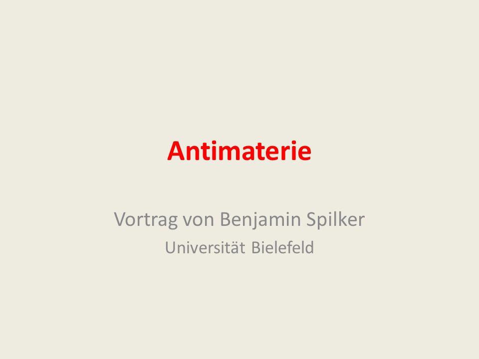 Vortrag von Benjamin Spilker Universität Bielefeld