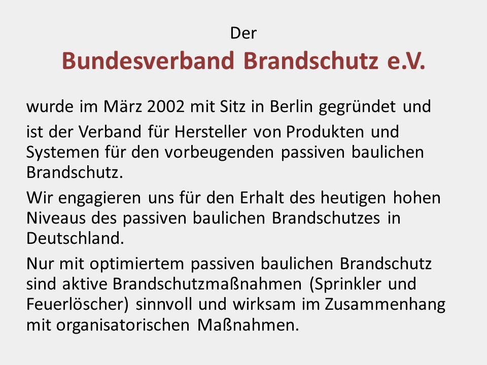 Der Bundesverband Brandschutz e.V.