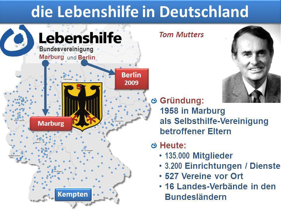 die Lebenshilfe in Deutschland
